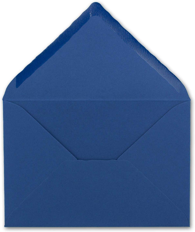 DIN A6/notelets colore froh gesamtparent 25 Umschl/äge 22-Naturwei/ß