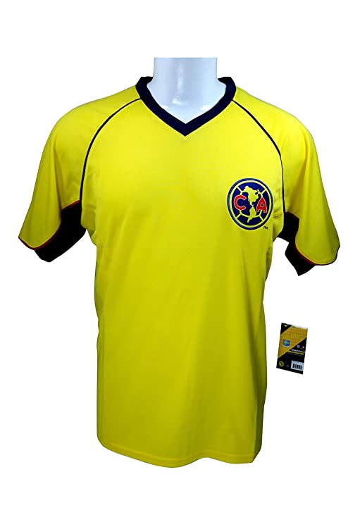 c86da90fc34 Club America Soccer Official Adult Soccer Training Performance Poly Jersey  -J007 Large