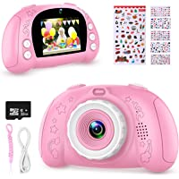 WOWGO Digital Camera for Kids, 1080P Rechargeable Electronic Children Camera Birthday Toy Gift with 32GB TF Card for…