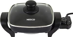 Nesco, Black, ES-08, Electric Skillet, 8 inch, 800 watts