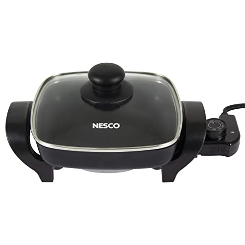 NESCO-ES-08,-Electric-Skillet,-Black