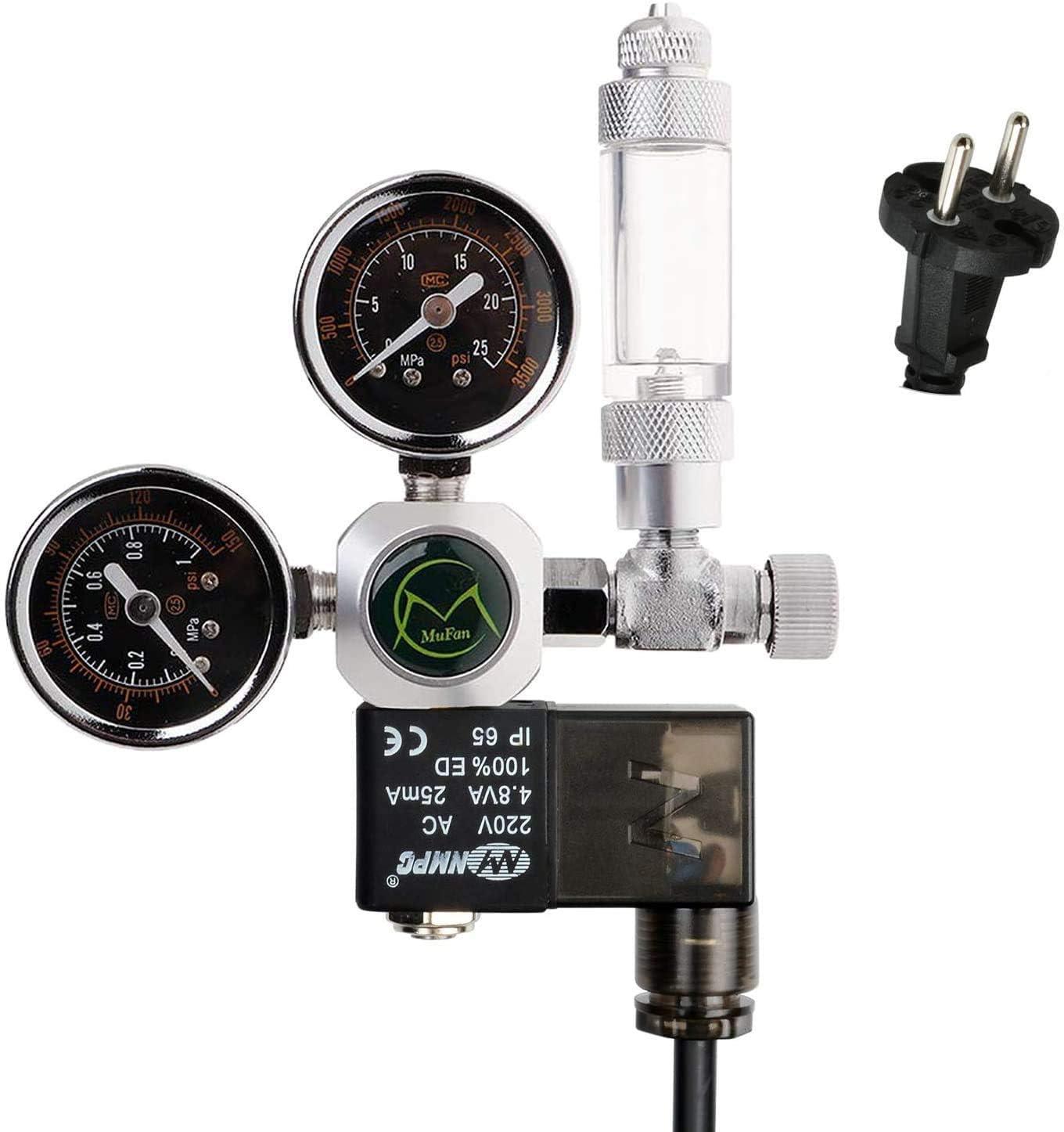 NICREW-CO2-Druckminderer-Aquarium