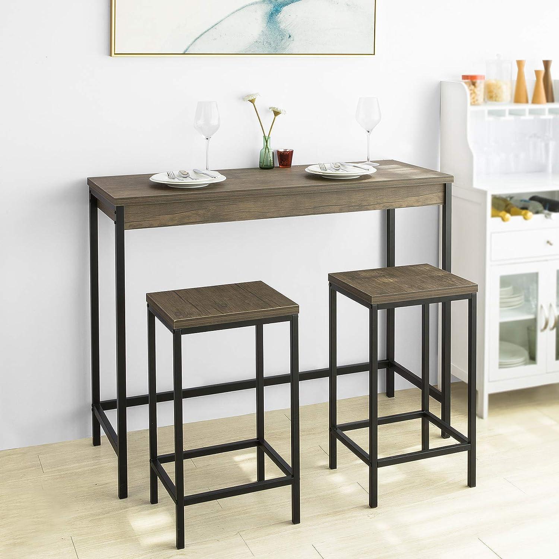 SoBuy OGT200-N 200-teilig Bartisch-Set Bistrotisch mit 20 Barhockern  Küchentresen mit Barstühlen