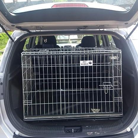 Pet World UK Hyundai IX20 2010 - 2015 Jaula para Perro con ...
