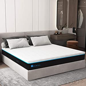 Queen Memory Foam Mattress, Avenco Queen Mattress in a Box, 12 Inch Premium Bed Mattress Queen with CertiPUR-US Foam for Supportive, Pressure Relief & Cooler Sleeping, 10 Years Support