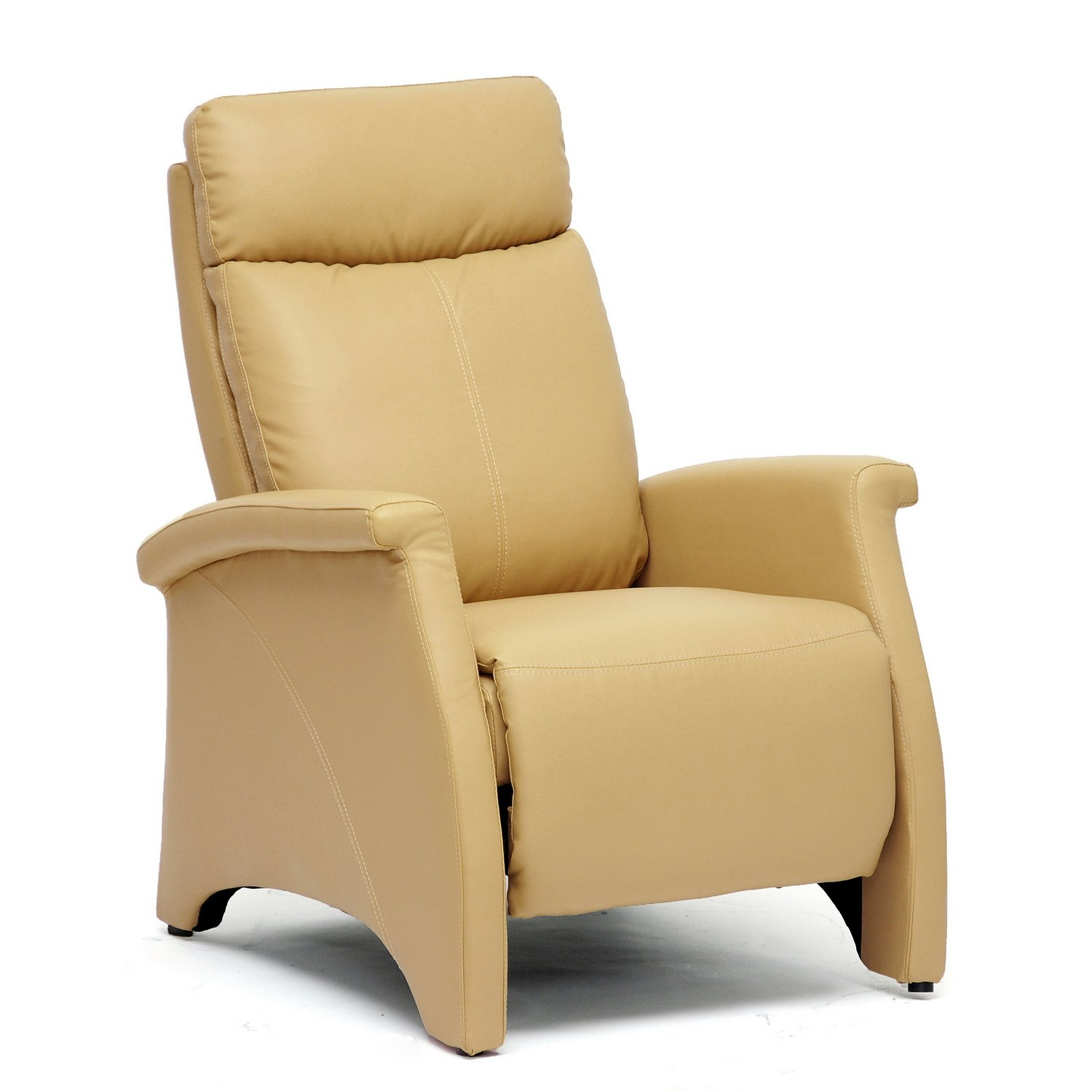 Amazon.com Baxton Studio Sequim Modern Recliner Club Chair Tan Kitchen u0026 Dining  sc 1 st  Amazon.com & Amazon.com: Baxton Studio Sequim Modern Recliner Club Chair Tan ... islam-shia.org