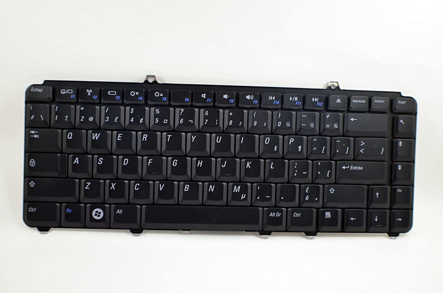 New R380J Genuine OEM Dell Inspiron 1540 1545 1546 Laptop Notebook French Canadian 86 Key Stroke Keypad Typing Board Assembly Performance K071425BS Keyboard