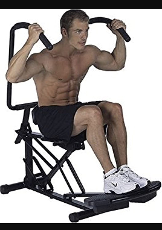 Body by JAKE AB SCISSOR Exerciser Abdominal Crunch Workout Machine Core Trainer