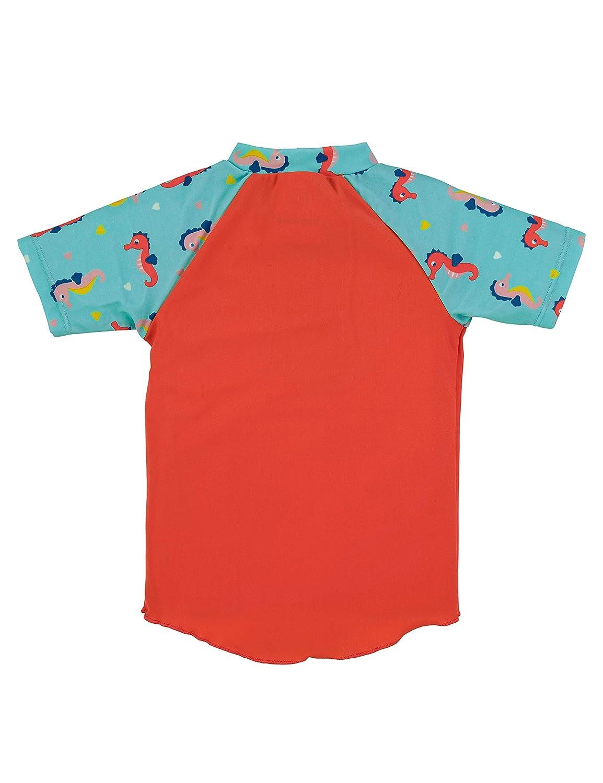 Sterntaler M/ädchen T-Shirt De Bain /À Manches Courtes Schwimmshirt
