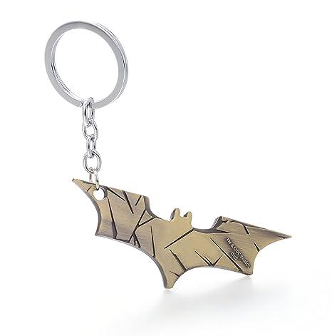 Super Hero Batman el caballero oscuro bate de metal anillo ...