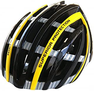 GUO Casco de Ciclismo Integrado Equipo de Equitación de Deportes Al Aire Libre, Casco de Ciclismo Opcional de 3 Colores,Gris,L