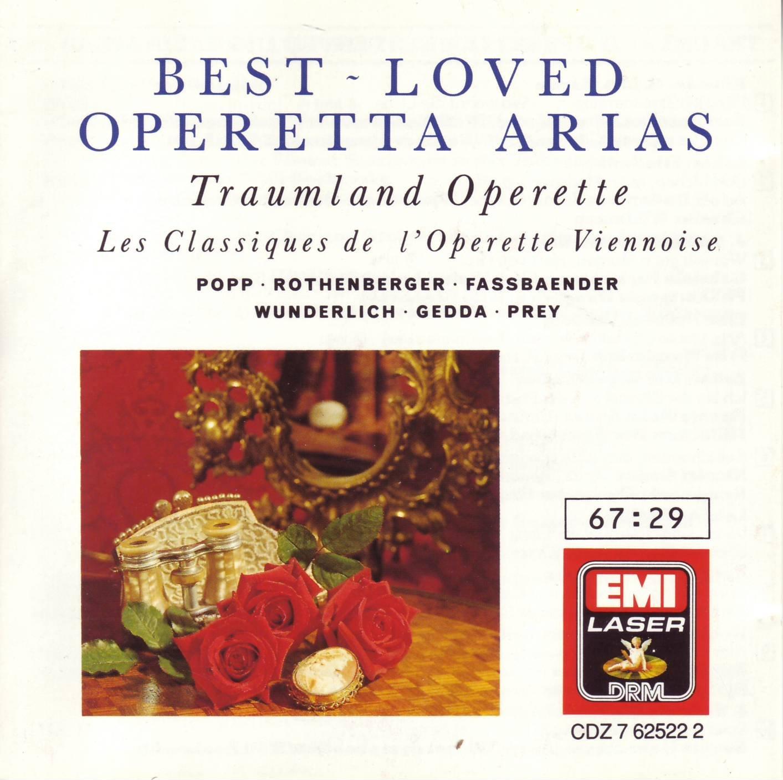 Best Loved Operetta Arias Gifts Super intense SALE