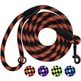 BRONZEDOG Reflective Dog Leash Rope Slip Lead 6