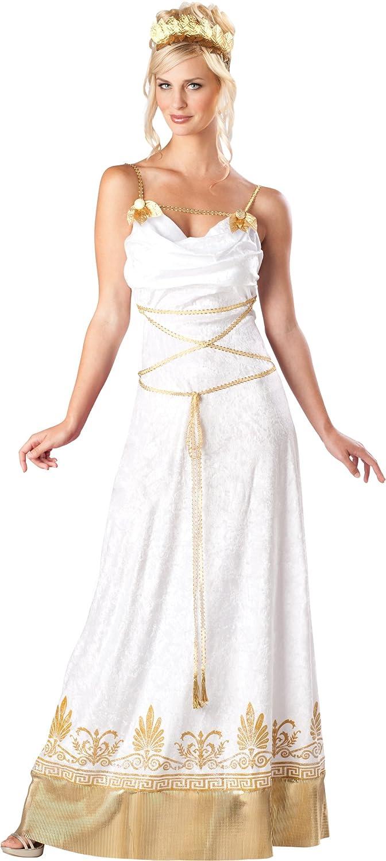 Amazon.com: InCharacter Costumes, LLC Grecian Goddess Dress, White ...