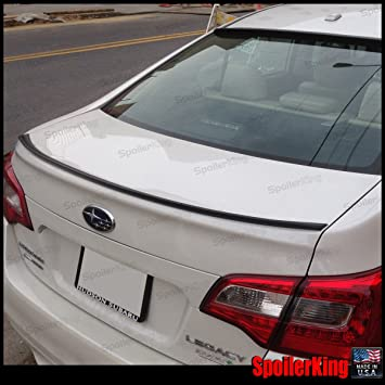 712641702303 Subaru Legacy 2015-on Trunk Lip Spoiler