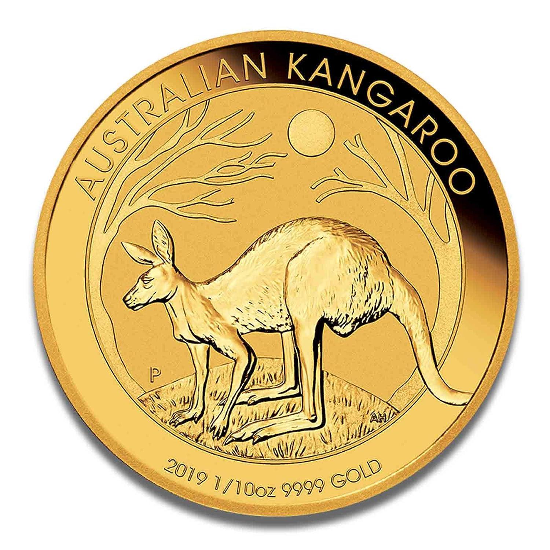 Goldmünze Australien Känguru - 999.9 FeinGold - Perth Mint (1 10oz 2019)  1 10oz 2019