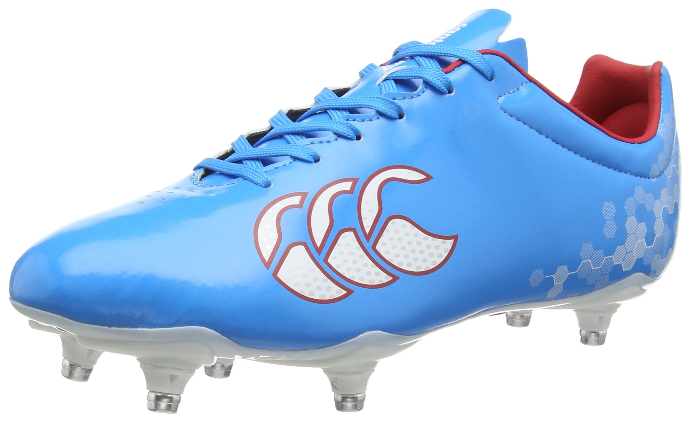 Canterbury Speed Club 6 Stud Rugby Boots (12 US Men's) by Canterbury