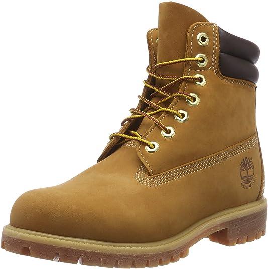 TALLA 39.5 EU. Timberland 6-Inch Double Collar Boot, Botas para Hombre