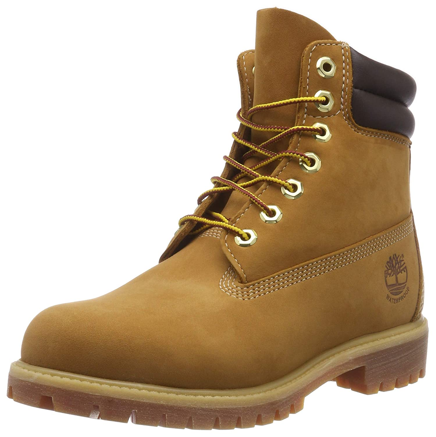 Timberland 6 Inch Double Collar Waterproof, Botas para Hombre
