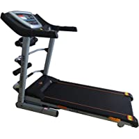 Marshal Fitness Auto Incline Treadmill with Shock Absorption System