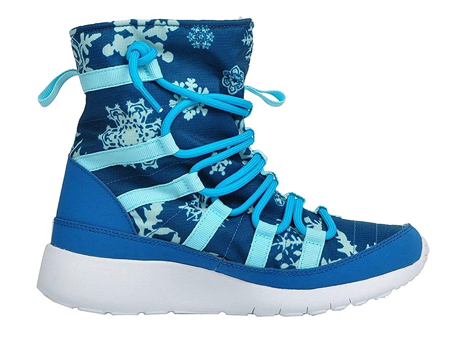 5.5 Big Kid M, Brigade Blue//BL Lagoon-CP-WHT GS 807744-400 Blue Shearing Boots Nike Girl Roshe One Hi Print