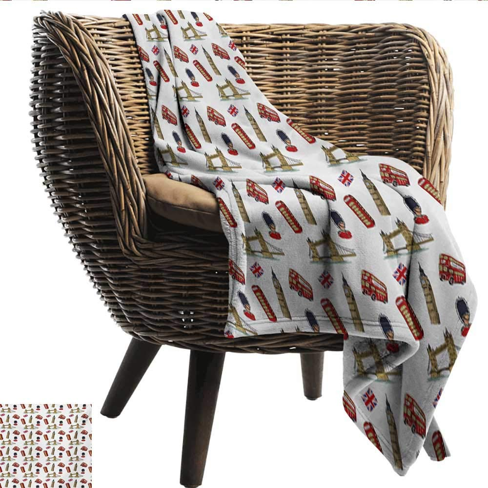 Groovy Amazon Com Smllmoondecor Home Throw Blanket London Big Ben Caraccident5 Cool Chair Designs And Ideas Caraccident5Info