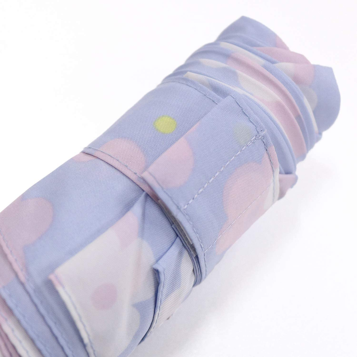 Nifty Colors folding umbrella gray size//about 51cm /× about 88cm Pale Flower 5-stage six bone