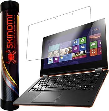 Skinomi Screen Protector Compatible with Lenovo IdeaPad Yoga 13 inch Clear TechSkin TPU Anti-Bubble HD Film