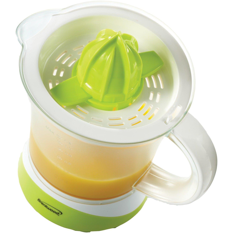 Brentwood j-17 aparatos cítricos exprimidor de zumo de 1,2 L, transparente: Amazon.es: Hogar