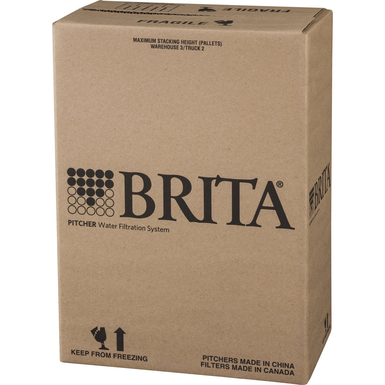 Brita Large 10 Cup Water Filter Pitcher with 1 Standard Filter, BPA Free – Grand, Multiple Colors by Brita (Image #6)
