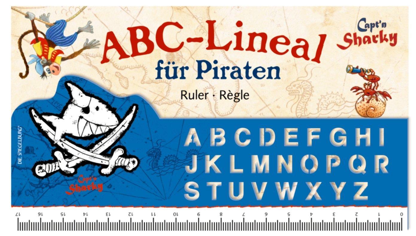 Righello ABC con lettere alfabeto, Capt´n sharky CaptŽn sharky Die Spiegelburg