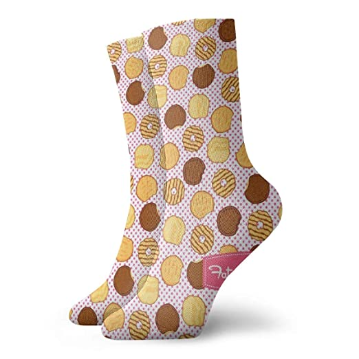 ff1597de3 Amazon.com: Riley Blake Girl Scouts Cookies Unisex Funny Casual Crew Socks  Athletic Socks For Boys Girls Kids Teenagers: Clothing