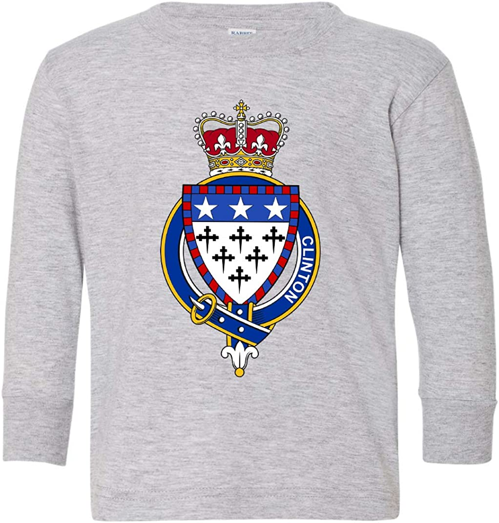 Tenacitee Toddlers Irish Garter Family Clinton Long Sleeve T-Shirt