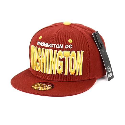 030dbf25afe Washington DC Snapback Cap at Amazon Men s Clothing store
