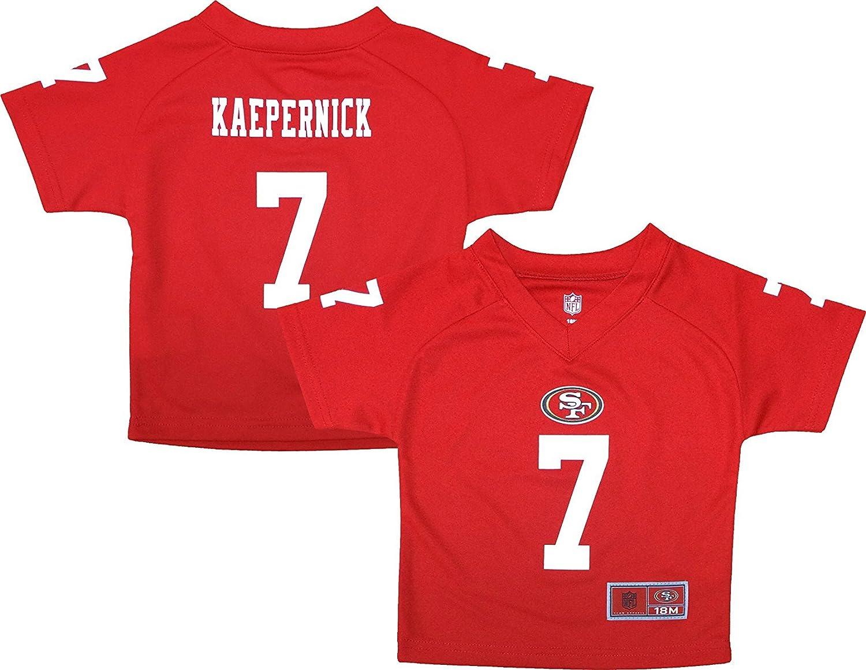 big sale b2d3c 42176 Amazon.com: Colin Kaepernick San Francisco 49ers Red ...