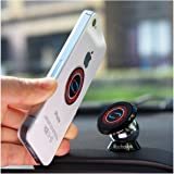 Nochoice® Magnetic Car Kits - Dashboard Holder For All Phone Sizes - Crazy Car Mount (35MM Black)