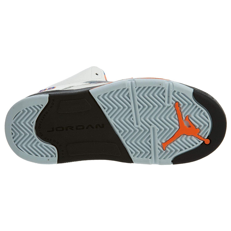 Nike Jordan 5 Retro TD Infant Basketball Shoes White 9 Medium Toddler D
