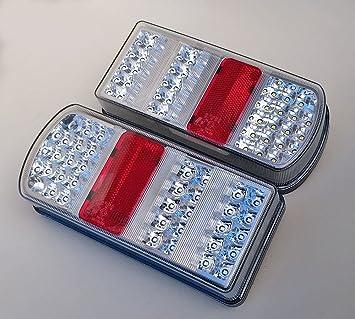 LED Anhänger Heckträger Fahrzeug Beleuchtung Rückfahrscheinwerfer NEU