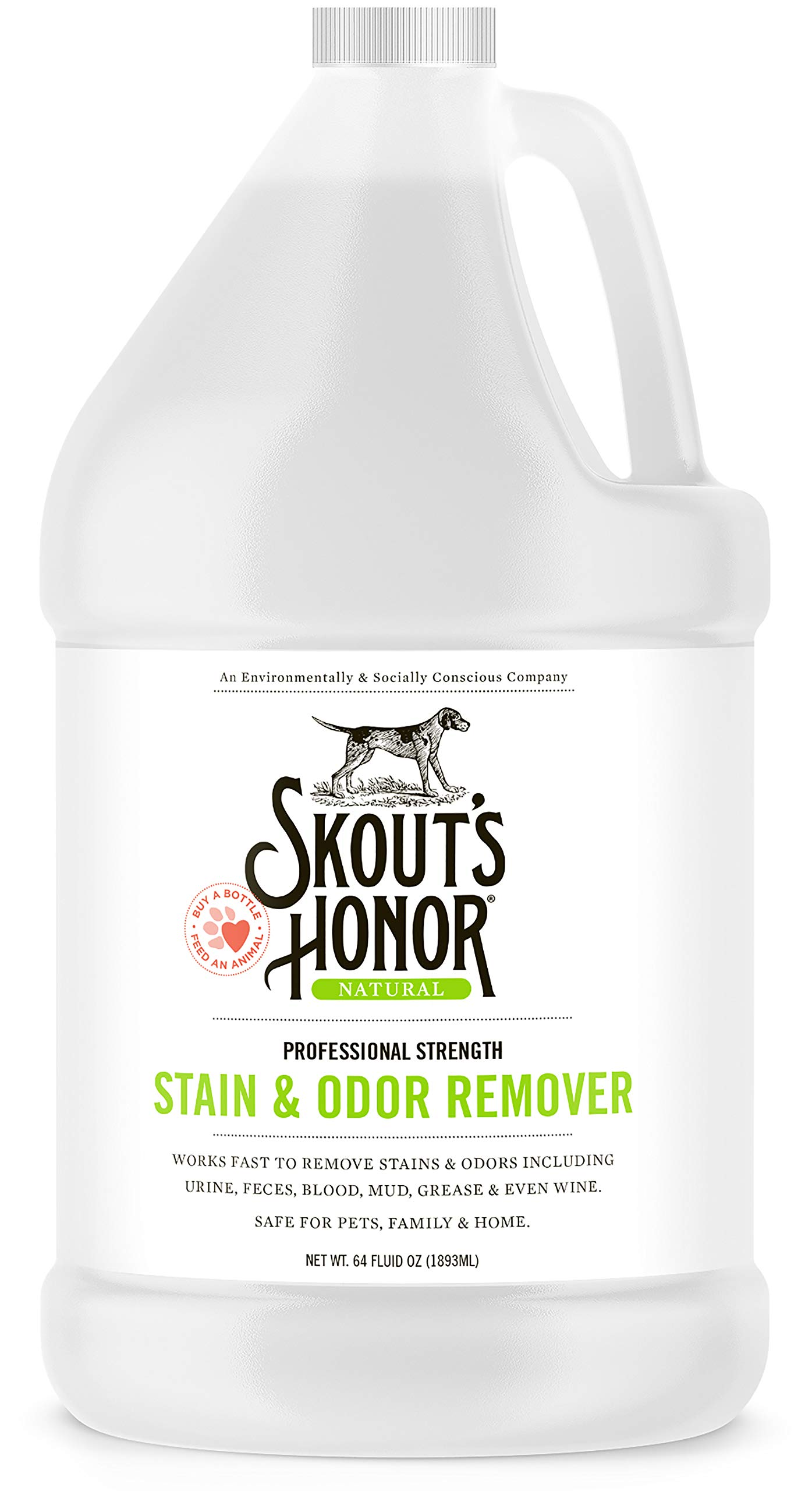 Skout's Honor Professional Strength Stain & Odor Remover by SKOUT'S HONOR