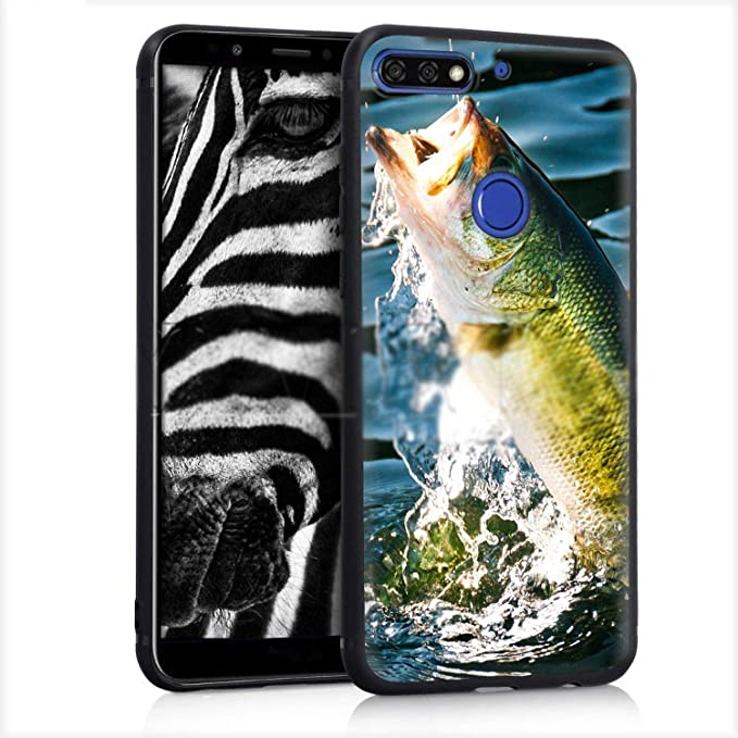 Amazon.com: Fishing Gear Fish Case for Huawei Mate Y7 Y9 P8 ...