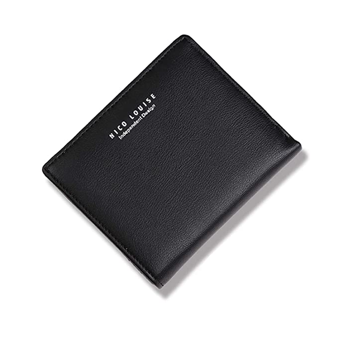 Amazon.com: Nico Lousie - Monedero de piel con bloqueo RFID ...