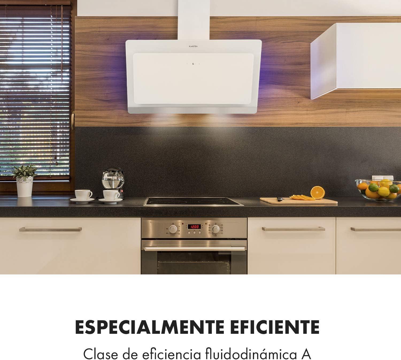KLARSTEIN Aurora Eco - Campana extractora, 550 m³/h, Bajo Consumo ...