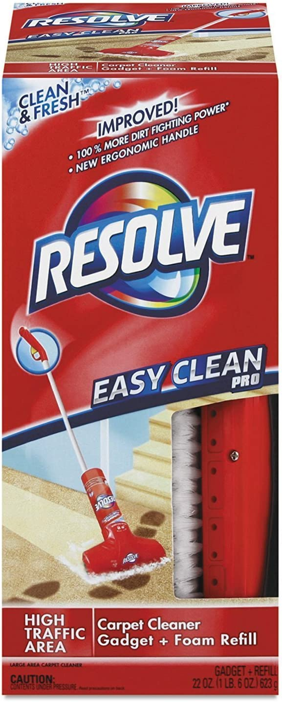 REC82844 - Easy Clean Carpet Cleaning System W/brush, Foam, 22 Oz
