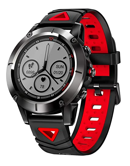 Amazon.com: Smart Watch G01 GPS Men IP68 Waterproof Blood ...
