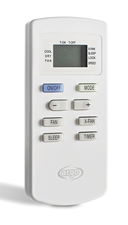 ARGOCLIMA Relax Climatiseur Mobile Monobloc avec Fonction D/éshumidificateur