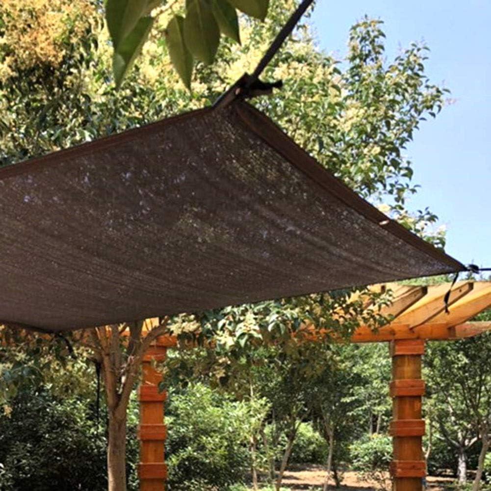 T.heng De Malla de Sol Bloqueador Solar Pantalla de Tela, Malla de sombreo UV Resistente a la Cubierta Vegetal, Invernadero, Patio al Aire Libre Jardín - Negro (Size : 4x8m): Amazon.es: Hogar