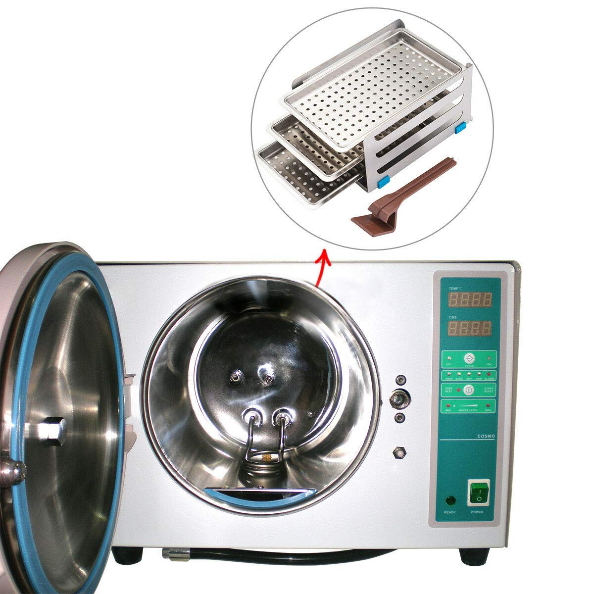 OUBO Brand Mini Vacuum Steam Medical Autoclave Surgical Machine 18L 110V