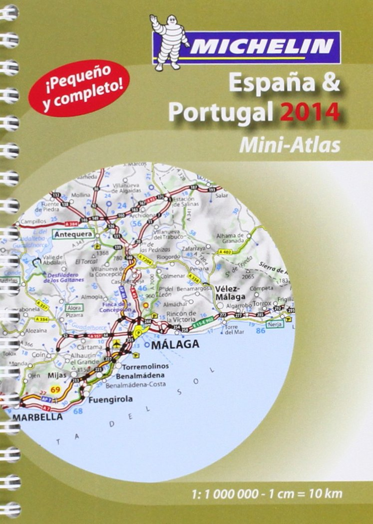 Mini-Atlas España. Portugal Atlas de carreteras Michelin: Amazon.es: Vv.Aa.: Libros