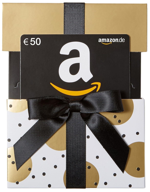 Amazon.de Geschenkkarte in Geschenkkuvert (Gold mit Punkten) - mit kostenloser Lieferung per Post Amazon EU S.à.r.l.