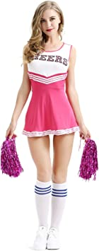 Disfraz de animadora para niñas niños pompones animadora ...
